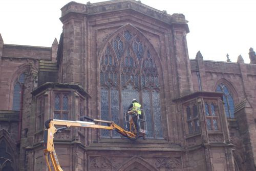 HEREFORD CATHEDRAL REPAIRS
