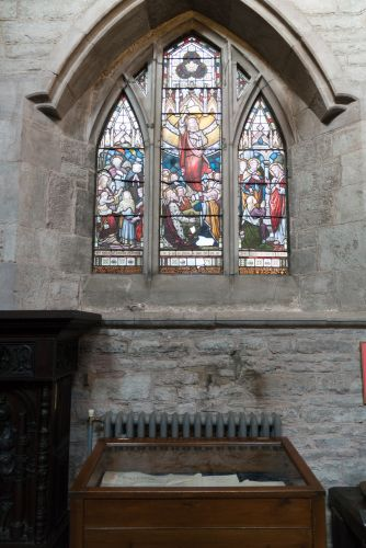 BRECON CATHEDRAL NORTH AISLE