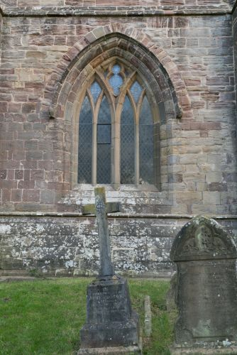 ALL SAINTS, NEWLAND. WEST WINDOW