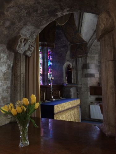 PLUSCARDEN ABBEY. LADY CHAPEL