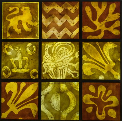 DOOR PANEL- ENCAUSTIC TILES