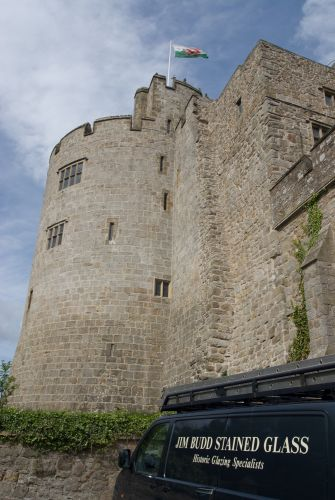 CHIRK CASTLE.  IN SITU REPAIR