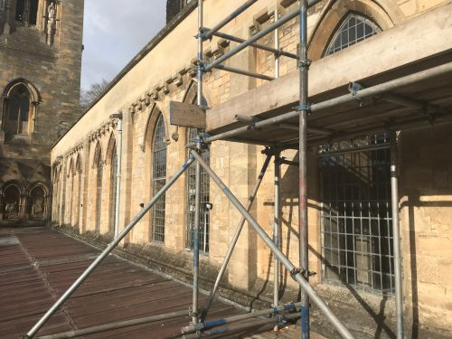 LLANDAFF CATHEDRAL CLERESTORY WINDOW CONSOLIDATION