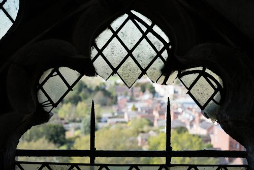 ST LAURENCE,  LUDLOW. TOWER LANTERN REPAIR OF STORM DAMAGE.