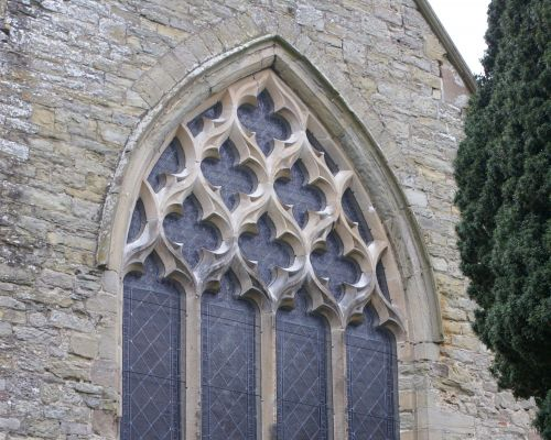 ST MARY'S, PEMBRIDGE. EAST WINDOW