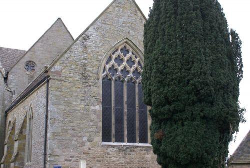 ST MARY'S, PEMBRIDGE. EAST WINDOW