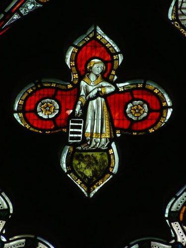 ST MARY'S, PEMBRIDGE. SOUTH AISLE WEST WINDOW