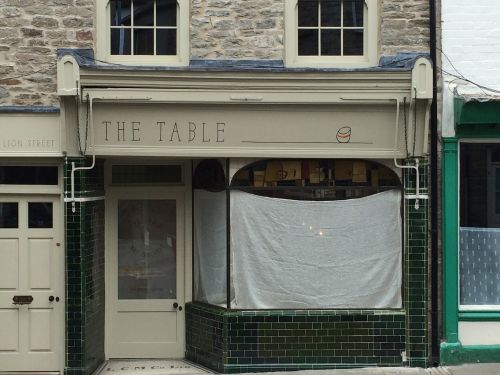 THE TABLE, HAY ON WYE